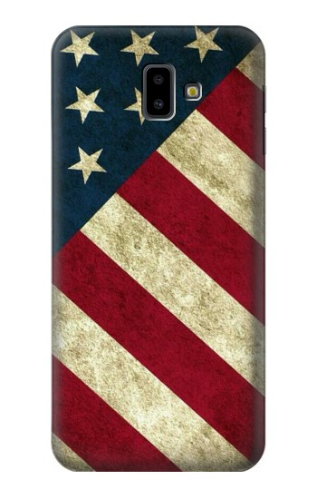 Printed US National Flag Samsung Galaxy J6 Plus (2018) Case