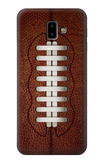 Printed Leather Vintage Football Samsung Galaxy J6 Plus (2018) Case