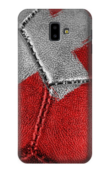 Printed Switzerland Flag Vintage Football 2018 Samsung Galaxy J6 Plus (2018) Case