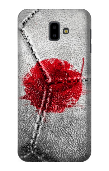 Printed Japan Flag Vintage Football 2018 Samsung Galaxy J6 Plus (2018) Case