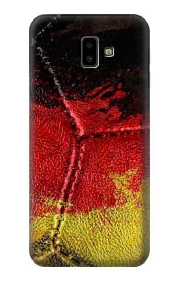 Printed Germany Flag Vintage Football 2018 Samsung Galaxy J6 Plus (2018) Case