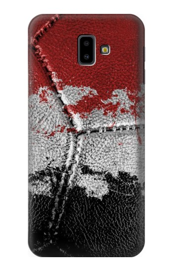 Printed Egypt Flag Vintage Football 2018 Samsung Galaxy J6 Plus (2018) Case