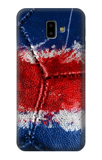 Printed Costa Rica Flag Vintage Football 2018 Samsung Galaxy J6 Plus (2018) Case