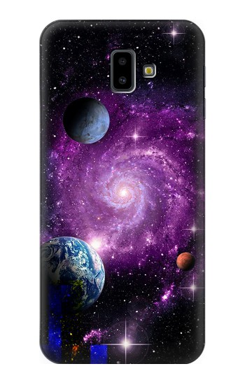 Printed Galaxy Outer Space Planet Samsung Galaxy J6 Plus (2018) Case