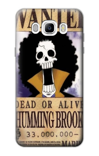 Printed One Piece Humming Brook Wanted Poster Samsung Galaxy J7 (2016) Case