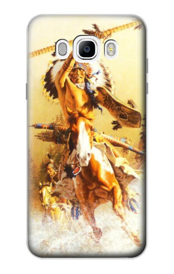 Printed Red Indian Warrior Samsung Galaxy J7 (2016) Case