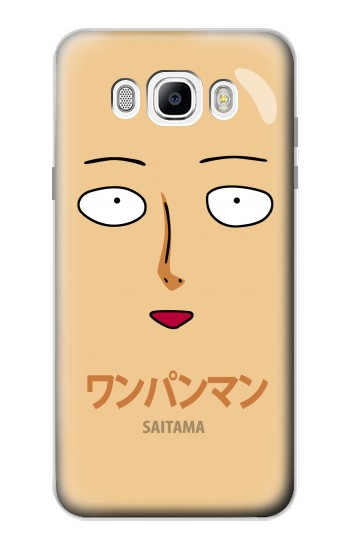Printed Saitama One Punch Man Samsung Galaxy J7 (2016) Case