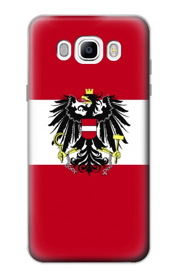 Printed Variant flag of Austria Samsung Galaxy J7 (2016) Case