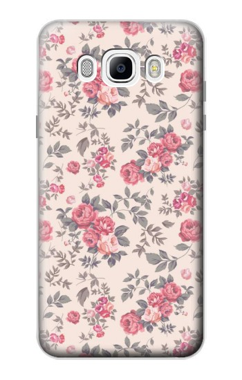 Printed Vintage Rose Pattern Samsung Galaxy J7 (2016) Case