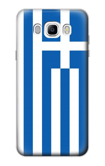 Printed Flag of Greece Samsung Galaxy J7 (2016) Case