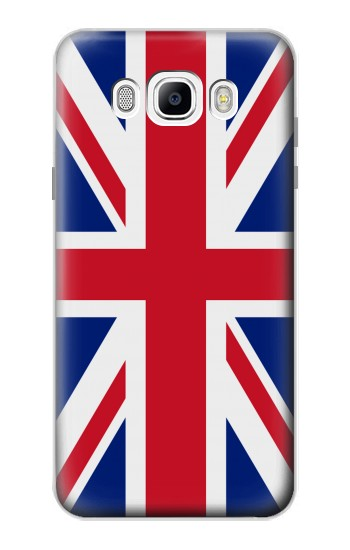 Printed Flag of The United Kingdom Samsung Galaxy J7 (2016) Case