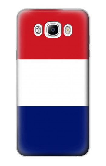 Printed Flag of France and the Netherlands Samsung Galaxy J7 (2016) Case