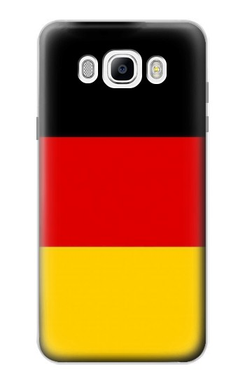 Printed Flag of Germany Samsung Galaxy J7 (2016) Case
