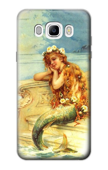 Printed Little Mermaid Painting Samsung Galaxy J7 (2016) Case