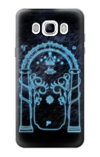 Printed Lord of The Rings Mines of Moria Gate Samsung Galaxy J7 (2016) Case