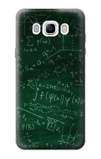 Printed Math Formula Greenboard Samsung Galaxy J7 (2016) Case