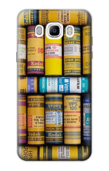 Printed MM Film Camera Samsung Galaxy J7 (2016) Case
