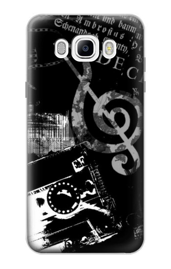 Printed Music Cassette Note Samsung Galaxy J7 (2016) Case