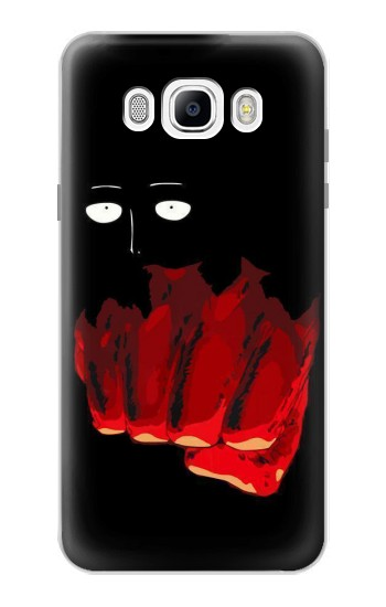 Printed One Punch Man Fight Samsung Galaxy J7 (2016) Case