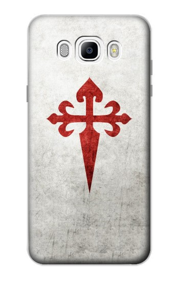 Printed Order of Santiago Cross of Saint James Samsung Galaxy J7 (2016) Case