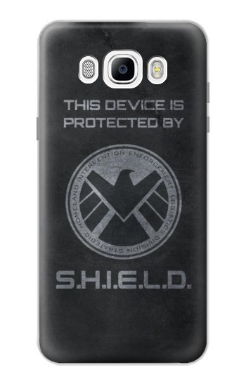 Printed This Device is Protected by Shield Samsung Galaxy J7 (2016) Case