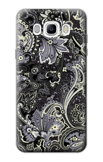 Printed Batik Flower Pattern Samsung Galaxy J7 (2016) Case