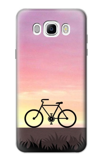 Printed Bicycle Sunset Samsung Galaxy J7 (2016) Case