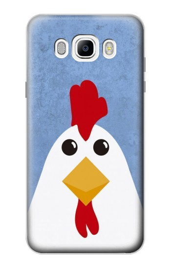 Printed Chicken Cartoon Samsung Galaxy J7 (2016) Case