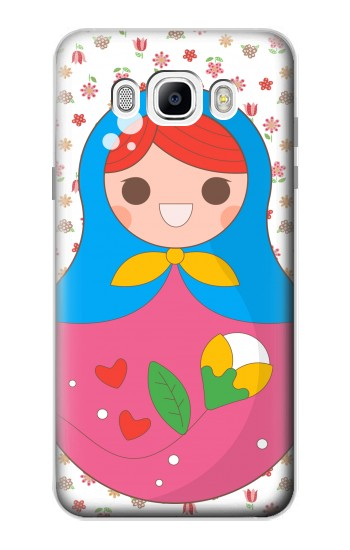 Printed Russian Doll Matryoshka Samsung Galaxy J7 (2016) Case