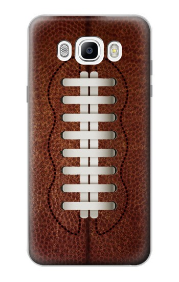 Printed Leather Vintage Football Samsung Galaxy J7 (2016) Case