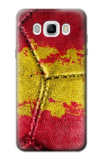Printed Spain Flag Vintage Football 2018 Samsung Galaxy J7 (2016) Case