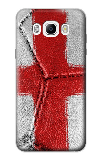 Printed England Flag Vintage Football 2018 Samsung Galaxy J7 (2016) Case