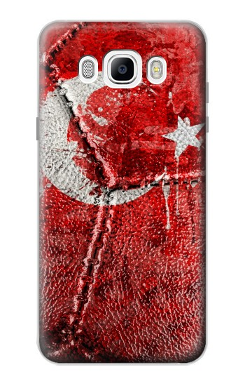 Printed Turkey Flag Vintage Football 2018 Samsung Galaxy J7 (2016) Case