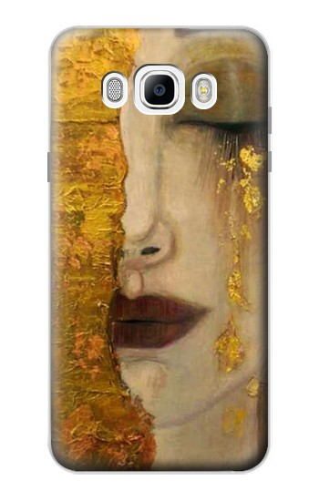 Printed Gustav Klimt Golden Tears Samsung Galaxy J7 (2016) Case