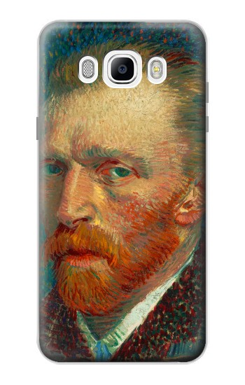 Printed Vincent Van Gogh Self Portrait Samsung Galaxy J7 (2016) Case