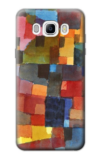 Printed Paul Klee Raumarchitekturen Samsung Galaxy J7 (2016) Case