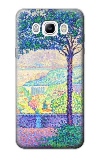 Printed Paul Signac Terrace of Meudon Samsung Galaxy J7 (2016) Case