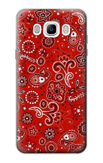 Printed Red Bandana Samsung Galaxy J7 (2016) Case