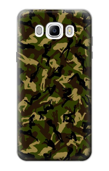 Printed Sexy Girls Camo Samsung Galaxy J7 (2016) Case
