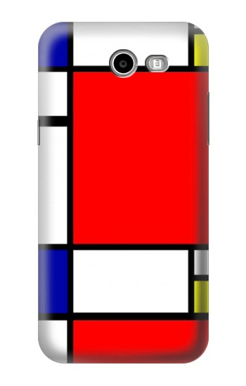 Printed Composition Red Blue Yellow Asus Zenfone 2 Laser ZE500KL Case