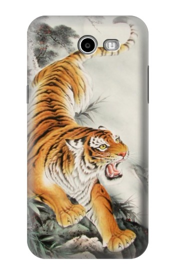 Printed Chinese Tiger Tattoo Painting Asus Zenfone 2 Laser ZE500KL Case