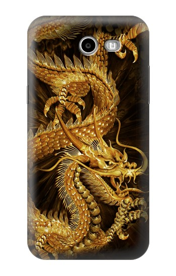 Printed Chinese Gold Dragon Printed Asus Zenfone 2 Laser ZE500KL Case
