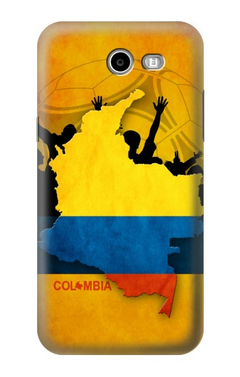 Printed Colombia Football Flag Asus Zenfone 2 Laser ZE500KL Case