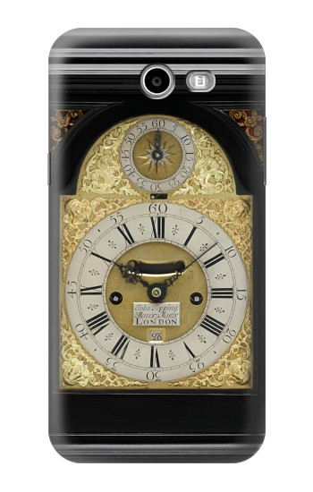 Printed Antique Bracket Clock Asus Zenfone 2 Laser ZE500KL Case