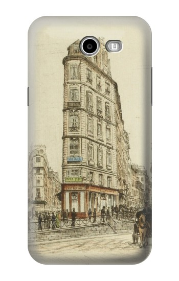 Printed Boulevards of Paris Asus Zenfone 2 Laser ZE500KL Case