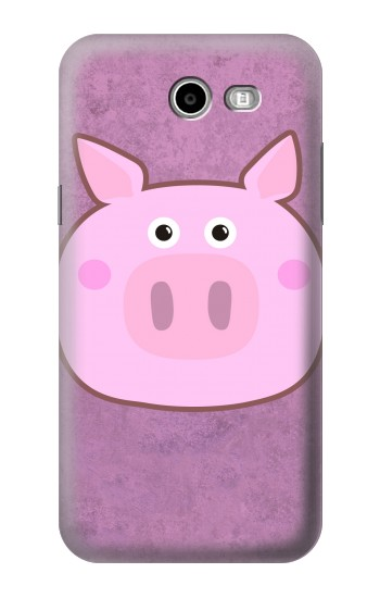 Printed Pig Cartoon Asus Zenfone 2 Laser ZE500KL Case