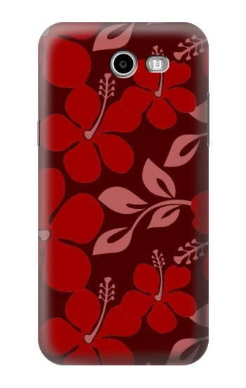 Printed Hawaii Dark Red Pattern Asus Zenfone 2 Laser ZE500KL Case