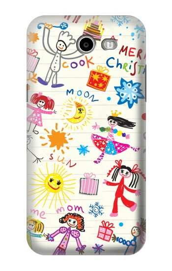 Printed Kids Drawing Asus Zenfone 2 Laser ZE500KL Case