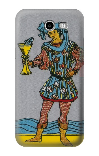 Printed Tarot Card Page of Cups Asus Zenfone 2 Laser ZE500KL Case