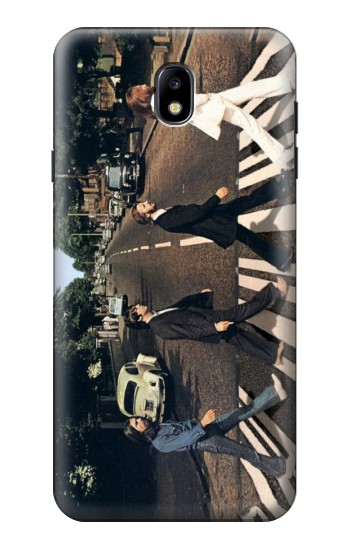 Printed The Beatles Abbey Road Samsung Galaxy J7 (2018) Case